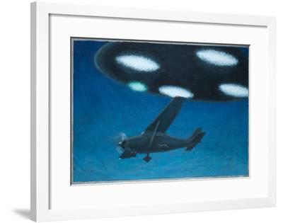 UFO Near Melbourne, Australia-Michael Buhler-Framed Giclee Print