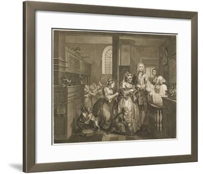 The Rake's Progress, Marriage Ceremony--Framed Giclee Print