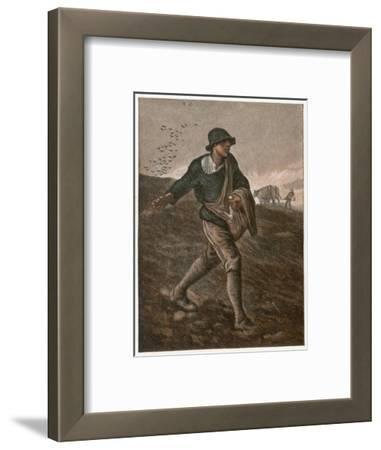 The Sower--Framed Giclee Print