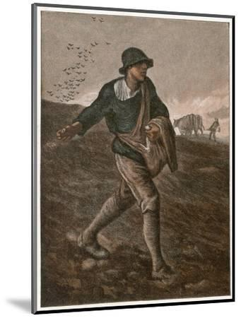 The Sower--Mounted Giclee Print