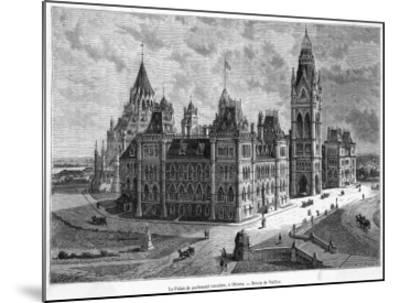 The Parliament Buildings--Mounted Giclee Print
