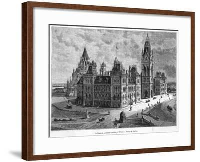 The Parliament Buildings--Framed Giclee Print