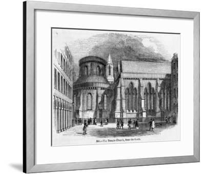 The Temple Church--Framed Giclee Print