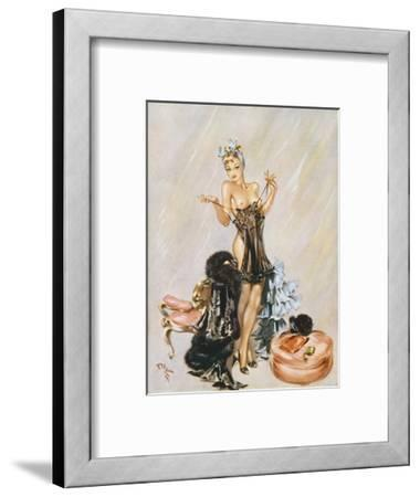 Utility Suit-David Wright-Framed Giclee Print