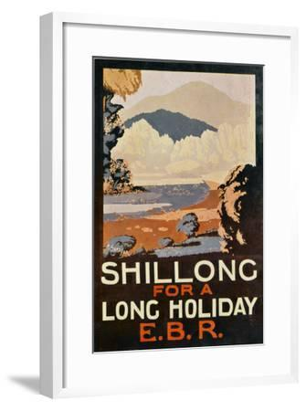 Visit Shillong, India for a Long Holiday--Framed Giclee Print