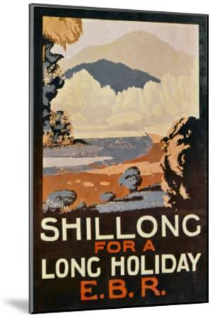 Visit Shillong, India for a Long Holiday--Mounted Giclee Print