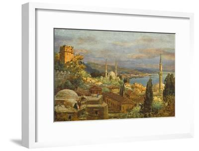 View of the Bosphorus--Framed Giclee Print