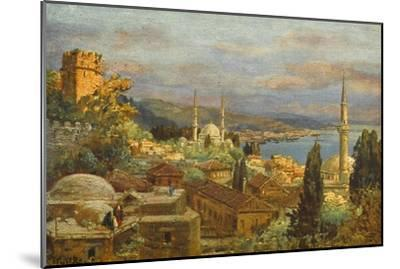 View of the Bosphorus--Mounted Giclee Print