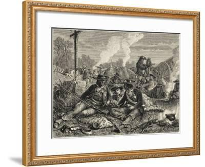 Vendee Fighting--Framed Giclee Print
