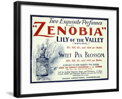 Zenobia Perfumes--Framed Giclee Print