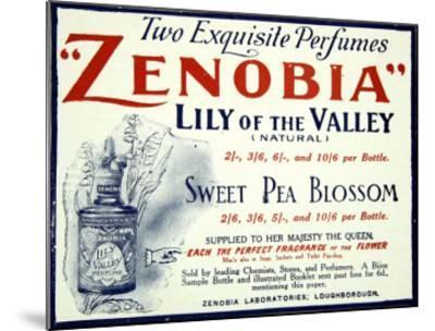 Zenobia Perfumes--Mounted Giclee Print