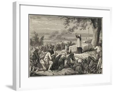 Vendee : Catholics--Framed Giclee Print