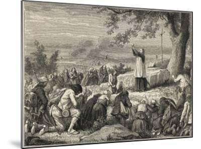Vendee : Catholics--Mounted Giclee Print