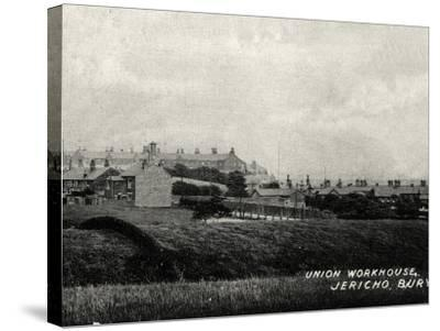 Bury Union Workhouse, Jericho, Lancashire-Peter Higginbotham-Stretched Canvas Print