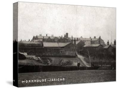 Bury Union Workhouse, Jericho, Lancashire-Peter Higginbotham-Stretched Canvas Print