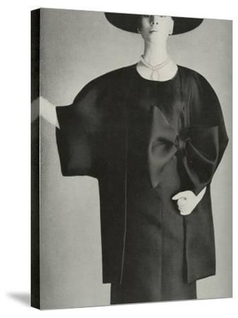 Balenciaga Fashion--Stretched Canvas Print