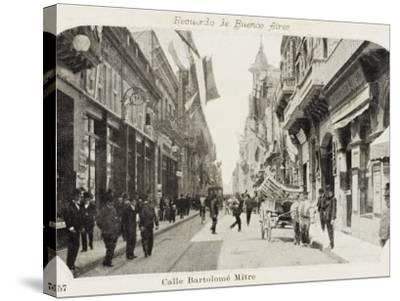 Bartholemew Mitre Street in Buenos Aires, Argentina--Stretched Canvas Print