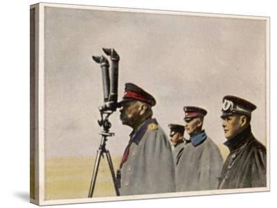 Hindenburg Periscope--Stretched Canvas Print