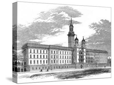 Guy's Hospital, Southwark--Stretched Canvas Print