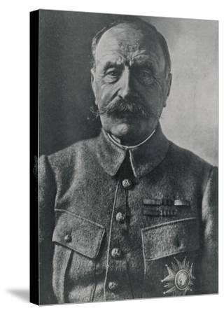 Ferdinand Foch French Military Commander in World War One--Stretched Canvas Print
