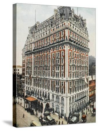 Knickerbocker Hotel - New York City--Stretched Canvas Print