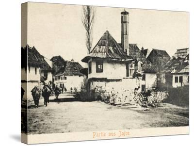 Jajce - Bosnia Herzegovina--Stretched Canvas Print