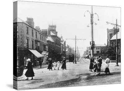 Lord Street Fleetwood Lancashire--Stretched Canvas Print