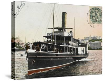 Nev-Esser - the Ferryboat from Istanbul to the Princes Islands--Stretched Canvas Print