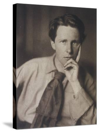 Rupert Brooke English Writer, in 1913--Stretched Canvas Print
