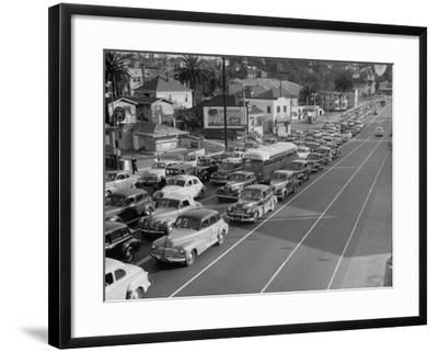 Los Angeles Traffic-Loomis Dean-Framed Premium Photographic Print