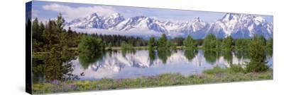 Usa, Wyoming, Grand Teton National Park-Jeff Foott-Stretched Canvas Print