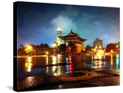 The East Gate in Taipei--Stretched Canvas Print