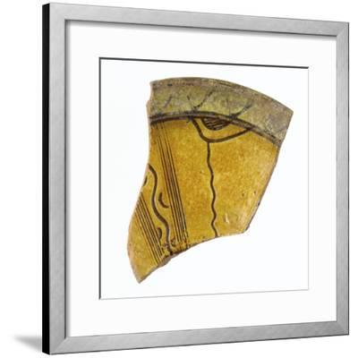 Fragment d'une aile de coupe--Framed Giclee Print