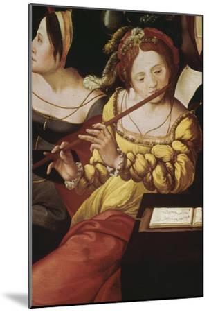 """""""L'enfant prodigue chez les courtisanes"""" dit aussi """"Allégorie des cinq sens""""--Mounted Giclee Print"""