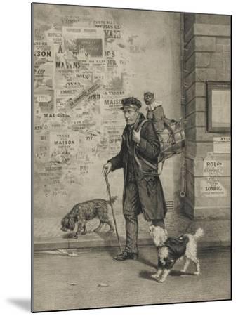 Un directeur et sa troupe--Mounted Giclee Print