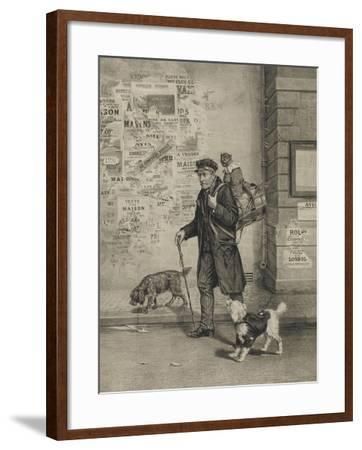 Un directeur et sa troupe--Framed Giclee Print