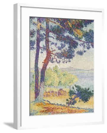 Après-midi à Pardigon (Var)-Henri Edmond Cross-Framed Giclee Print