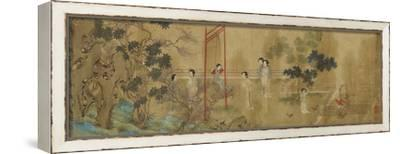 Album--Framed Stretched Canvas Print