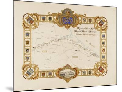 Album relié: Itinéraire et vues du chemin de fer du Nord-Edouard Denis Baldus-Mounted Giclee Print