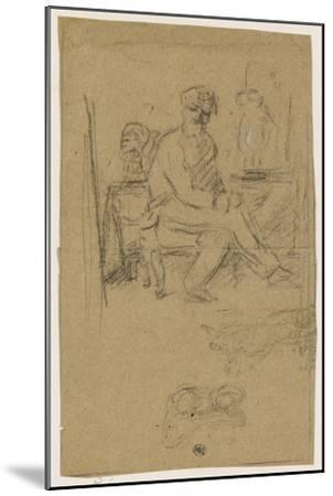 Album des Fiançailles : L'Artiste écoute la musique qui l'inspire--Mounted Giclee Print