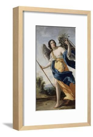 Allegory of Virtue Said before Allegory of Victory-Simon Vouet-Framed Giclee Print