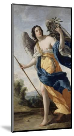 Allegory of Virtue Said before Allegory of Victory-Simon Vouet-Mounted Giclee Print