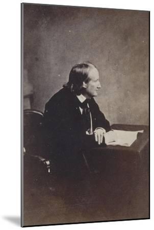 Alfred de Vigny, Académie française en 1845-Gustave Le Gray-Mounted Giclee Print