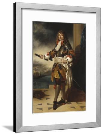 Anne-Hilarion de Costentin, comte de Tourville, maréchal de France (1642-1701)-Eugene Delacroix-Framed Giclee Print