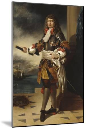Anne-Hilarion de Costentin, comte de Tourville, maréchal de France (1642-1701)-Eugene Delacroix-Mounted Giclee Print