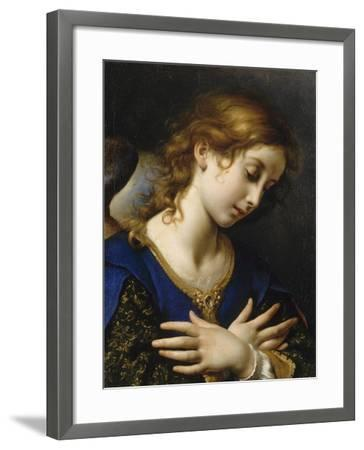 Ange de l'Annonciation-Carlo Dolci-Framed Giclee Print