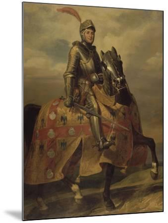 André de Montfort de Laval, seigneur de Loheac, amiral en 1437, Maréchal de France en 1439-Eloi Firmin Feron-Mounted Giclee Print
