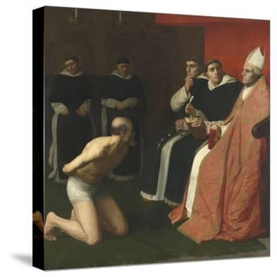 Une amende honorable-Alphonse Legros-Stretched Canvas Print