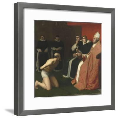 Une amende honorable-Alphonse Legros-Framed Giclee Print