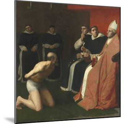 Une amende honorable-Alphonse Legros-Mounted Giclee Print